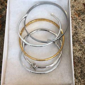 Kate spade bracelets set of 5